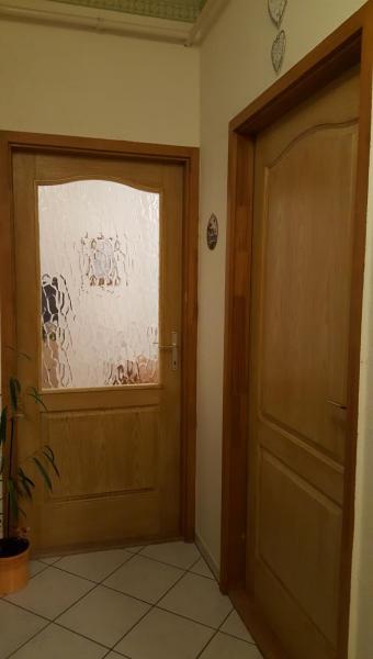 HDF 1 es beltéri ajtó festés után
